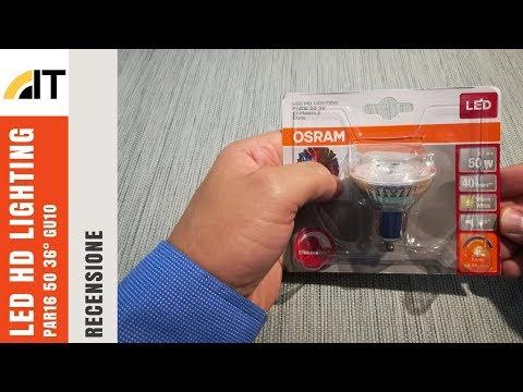Recensione OSRAM Led HD Lighting PAR16 GU10 6,1W