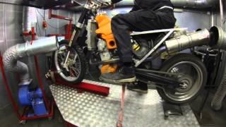 8. KTM EXC 525 637cc 83 hp dyno