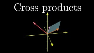 Cross products | Essence of linear algebra, Chapter 10