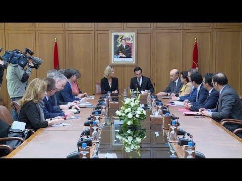 M. Benchaaboun s'entretient à Rabat avec Mme Federica Mogherini