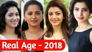 Video Top South Indian Actresses Real Age List | Heroines Real Age | Samantha,Kajal Agarwa, Anuska shetty MP3, 3GP, MP4, WEBM, AVI, FLV April 2019