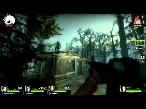 Left 4 Dead 2 - Swamp Fever - DaRk_FuNeRaL ExVSK LSAnarchie & Lanikeu !