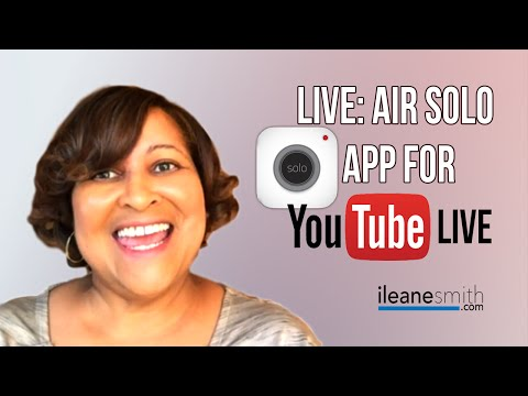 Watch 'Live: Air Solo iOS App for YouTube Live [Review]'