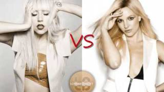 Britney Spears (Circus) vs Lady GaGa (Poker Face) - Circus Face