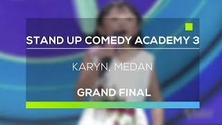 Video Stand Up Comedy Academy 3 : Karyn, Medan MP3, 3GP, MP4, WEBM, AVI, FLV November 2017