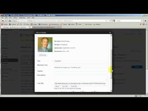 WordPress Beginner: Editing Page Content Part 2