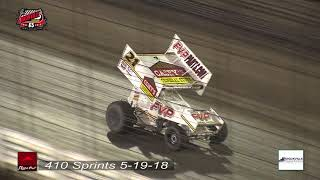 Knoxville Raceway 410 sSprints 5-19-18