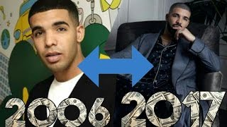 The Evolution Of Drake(2006 - 2017)