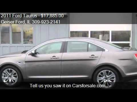2011 Ford Taurus Limited 4dr Sedan for sale in Roanoke, IL 6