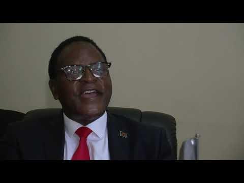 Dr  Lazarus Chakwera interview