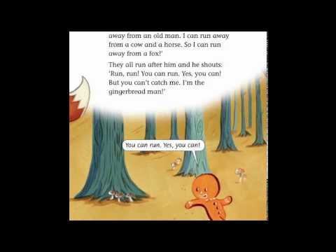 The Gingerbread Man-  story for kids