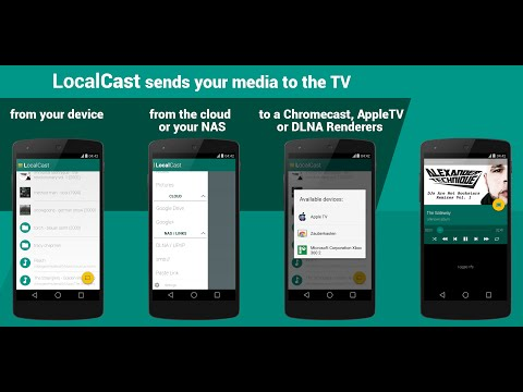 Video of LocalCast (Media 2 Chromecast)