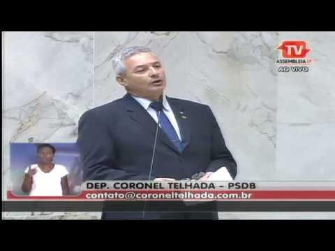 Coronel Telhada - Discurso em plenário 10/04/2017 (ALESP)