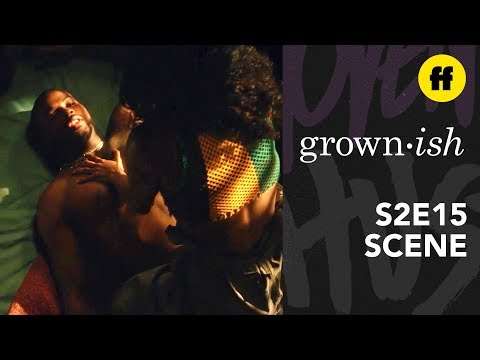grown-ish Season 2, Episode 15 | Aaron Almost Gets Caught Hooking Up | Freeform