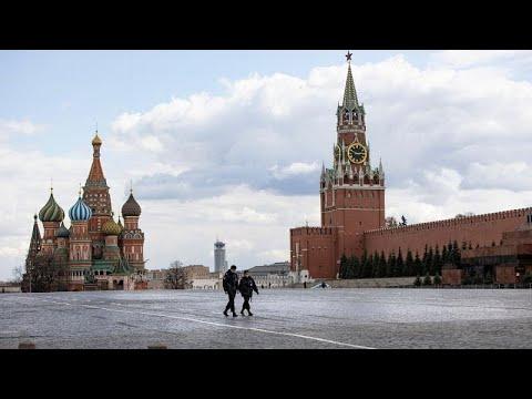 Corona-Maßnahmen: Isolierte Senioren in Moskau