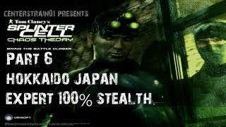 Splinter Cell: Chaos Theory - Stealth Walkthrough - Part 6 - Hokkaido Japan