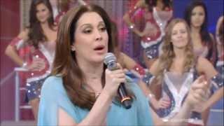 Claudia Raia no Domingão do Faustão 07/04/2013 COMPLETO