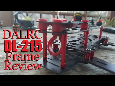 DALRC DL215 Quadcopter Frame Review from Banggood
