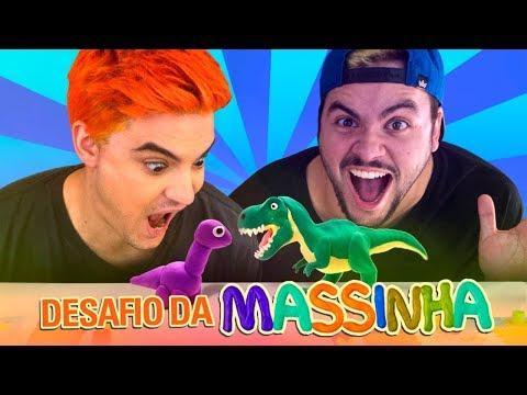 DESAFIO DA MÍMICA COM MASSINHA! LUCCAS VS FELIPE!