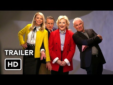 Murphy Brown (CBS) First Look HD - 2018 Revival Comedy Series Candice Bergen