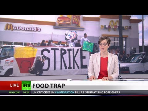 Survival Struggle: Fast food workers earn blns for employers but can't feed themselves