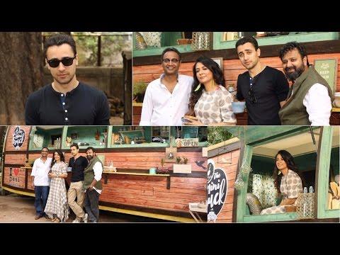 On Location Shoot Of Mini Mathur Show Truck With Imaran Khan & Nikhil Advani