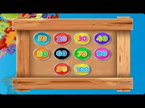 juego de matemáticas para aprender los números del 10 al 100