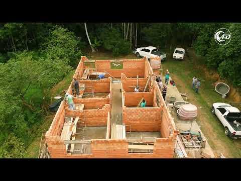 Construção da Casa do Dc. José Luiz - Projeto Mais