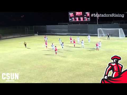 2013 CSUN Men's Soccer Top 10 Plays