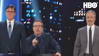 Video Stephen Colbert & John Oliver Take Over The Stage | Night Of Too Many Stars | HBO MP3, 3GP, MP4, WEBM, AVI, FLV Januari 2018