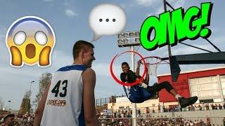 Giannis Antetokounmpo Scores 64 Points In a Greek Streetball Game VS Kristaps Porzingis