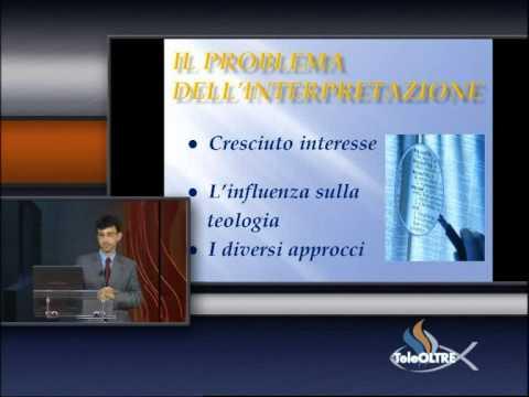 Introduzione alla Teologia e all'Esegesi - Studiando la Parola - SV05-2011 - TeleOltre