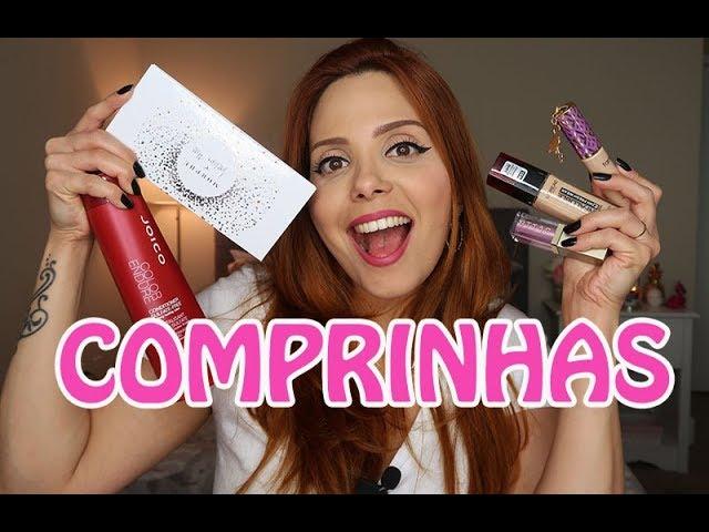 COMPRINHAS: Makes e Cosméticos   Claudinha Stoco - Claudinha Stocco