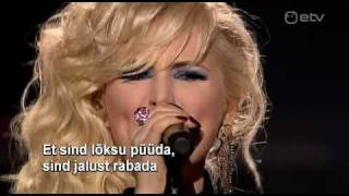 Victoria - Baby Had You (Eesti NF 2011)