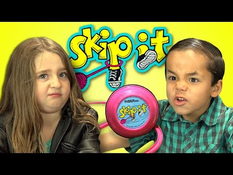 Kids React To SkipIt Toy