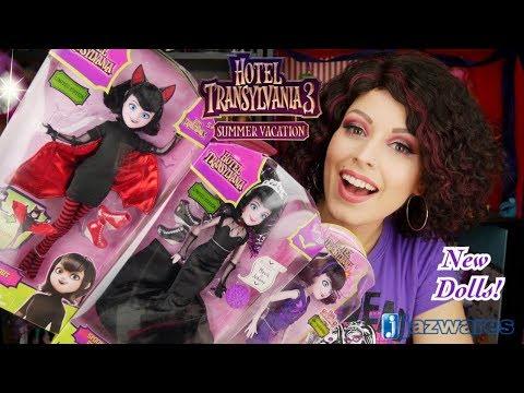 NEW Hotel Transylvania 3 Mavis Dolls! Unboxing & Review by Jazwares
