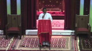 Deacon Andualem @ Toronto St. Mary Ethiopian Orthodox Tewahedo Church (November 15, 2013)