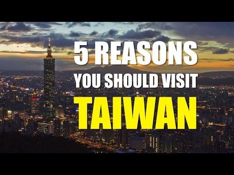 老外,非來台灣不可的5個理由!