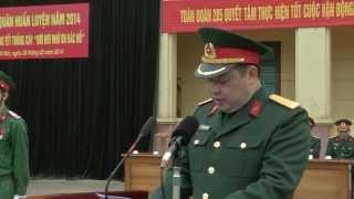 Lễ ra quân huấn luyện năm 2014