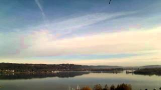 Lake Maggiore Winter day weather time-lapse by Meteo Dormelletto