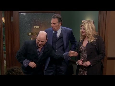 Seinfeld Reunion on 'Kirstie' With Jason Alexander and Michael Richards