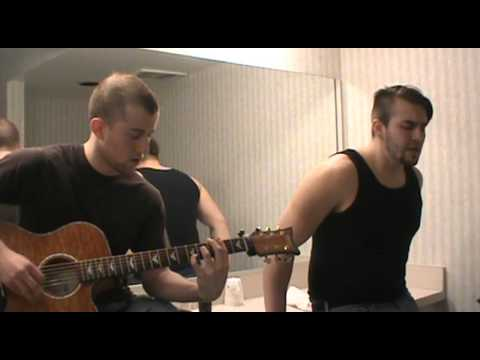 Staind- Something To Remind You (Cover) LIVE BATHROOM RECORDING