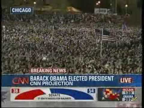 Barack Obama is Declared President Elect of the United States!
