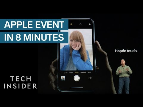 Apple's September iPhone Event In 8 Minutes