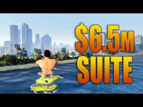 Buying & Customizing A $6.5 MILLION Penthouse! (GTA Online Casino DLC)