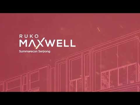 Peluang Bisnis Makin Manis @ RUKO MAXWELL