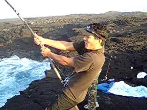 Ahiuhawaii.com Presents-Ulua Fishing on the Big Island of Hawaii – 2009