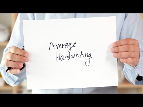 What Your Handwriting Says About You