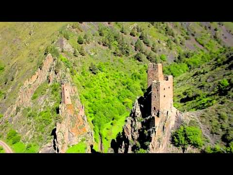 Mountainous Ingushetia most beautiful place in Russia (видео)