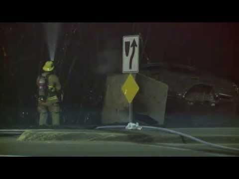 Hit and run fire